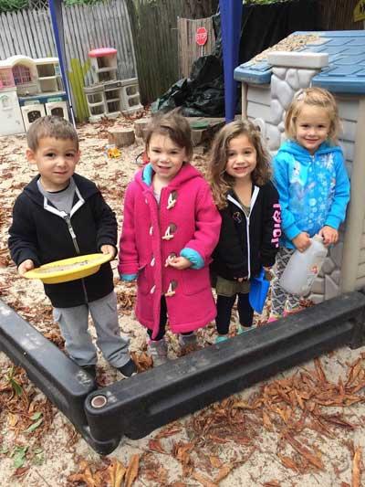Kids in Days of Wonder sandbox
